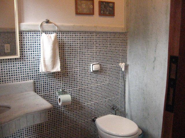 Banheiro dos quatos na Pousada Tartarugas - Dunas de Itaúnas